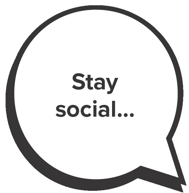 Stay Social ...